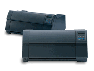 Two Tally 4347 dot matrix printers